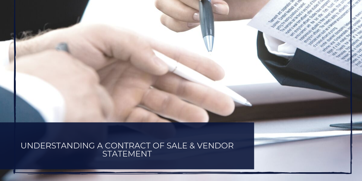 What is a Contract of Sale?